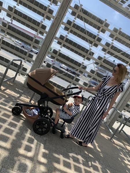dostawka do wózka z fotelikiem dla dziecka