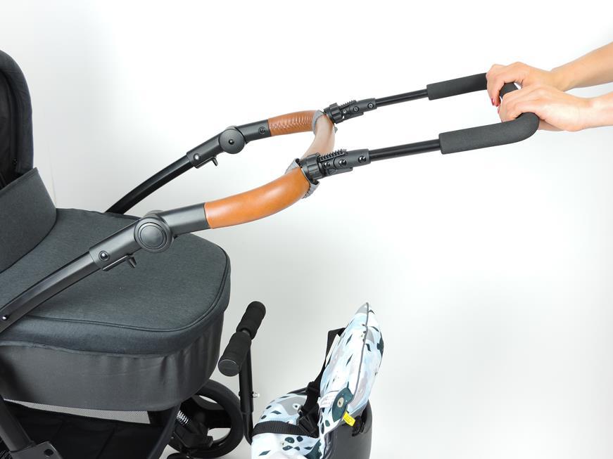 przedłużnie rączki wózka z dostawką