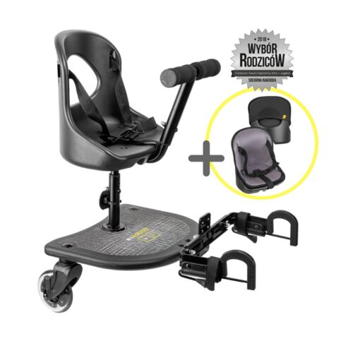 dostawka do wózka X Rider z fotelikiem