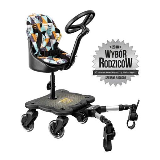 dostawka do wózka z kierownicą i poduszką