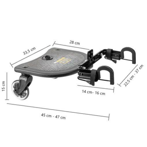 platforma do wózka x rider wymiary
