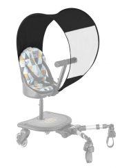 osłona przeciwdeszczowa do dostawki do wózka